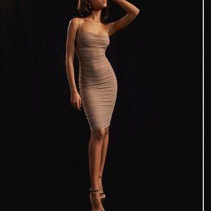 Babaton Mesh Bandage Dress